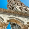 Cathedral of St. Domniusa in Split, Croatia - Stock Photo