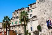 Eski şehir mimarisi, split, hırvatistan — Stok fotoğraf
