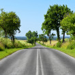 Road, summer travel — Stock Photo