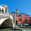 Rialto bridge in Venice - Stock Photo