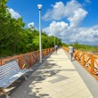 Stock Photo: Coastal promenade