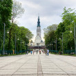 Sanctuary in Czestochowa, Poland - Stock Photo