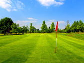 Golf course — Stock fotografie
