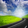 Stock Photo: Road to heaven