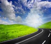 Road to heaven — Stock Photo
