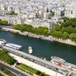 Royalty-Free Stock Photo: Paris, panorama from the Eiffel tower