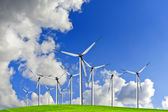 Rüzgar enerjisi — Stok fotoğraf