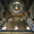 Indoor St. Peter's Basilica, Vatican - Stock Photo