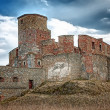 Stock Photo: Medieval castle on the hill