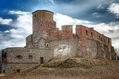 Medieval castle on the hill — Stock Photo