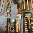 Metal tools — Foto de Stock