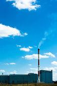 Industry chimney — Stock Photo