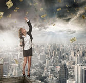Receveur de l'argent — Photo