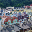 Kind to Kiev from height — Stock Photo
