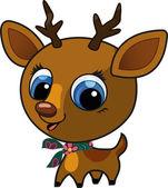 Cute fashion deer vector illustration — Stock Vector