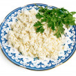 Royalty-Free Stock Photo: Cottage cheese and parsley