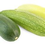 Three different zucchini — Stock Photo