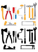Hand tools — Stock Vector