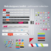 Web designers toolkit - coleção pathmaster — Vetorial Stock