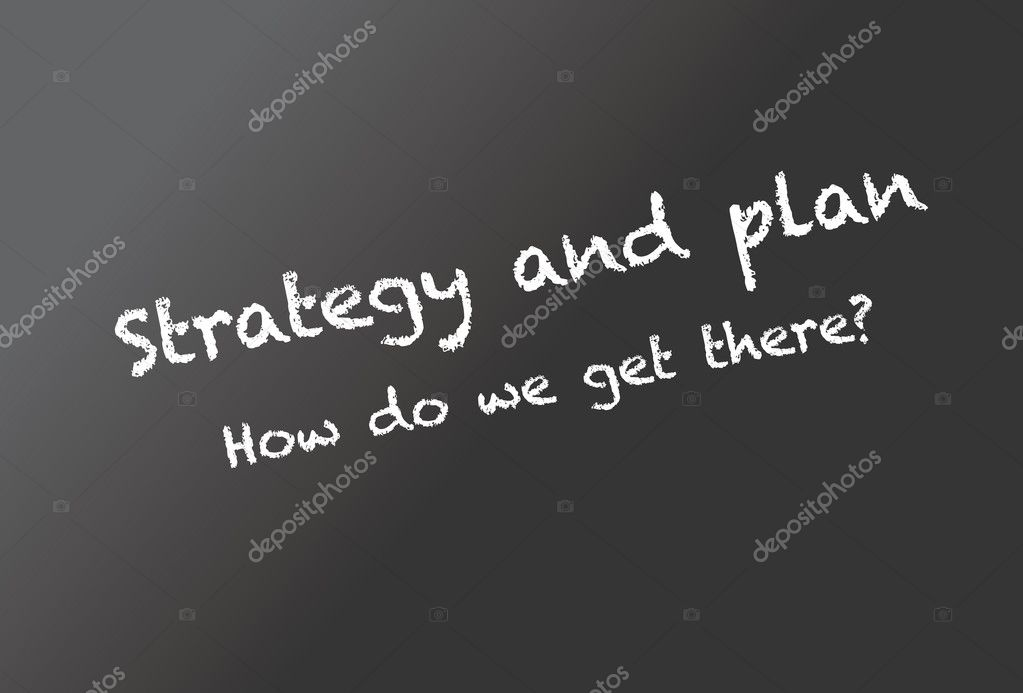 Strategy and plan — Stock Vector #5653181