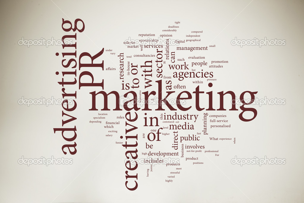 Marketing word cloud — Stock Photo #5750427