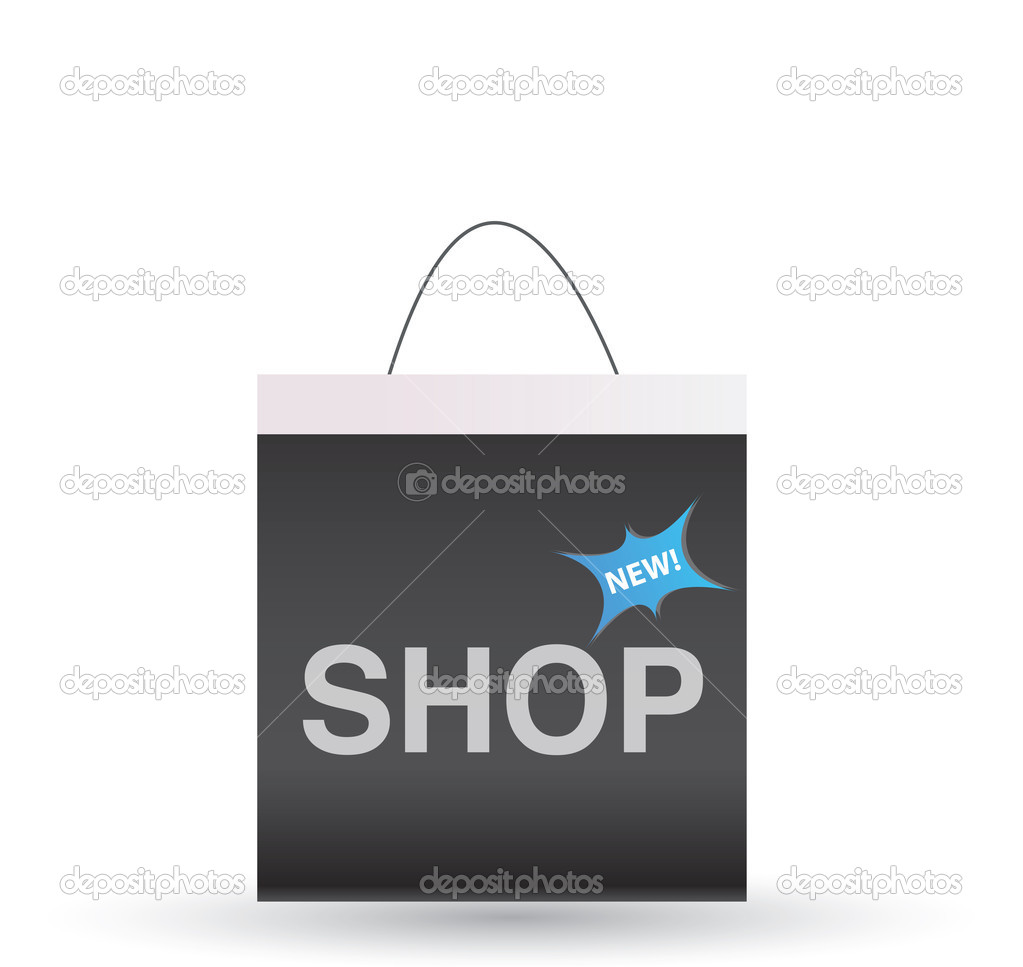 Shopping icon  Stock Vector #6460773