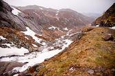 Norwegian mountains — Stock Photo