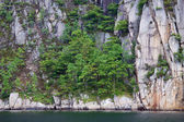 Lysefjorden fiord wall — Stock Photo