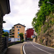 Stock Photo: Street in Lugano city