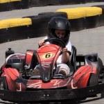 Driver on circuit — Stock Photo #5863341