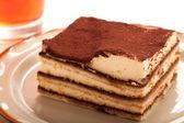 Tiramisu dessert — Zdjęcie stockowe