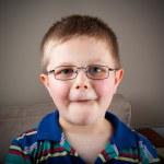Small boy portrait — Stock Photo
