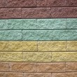 Abstract color stone wall, diversity background. — Stock Photo #5479171