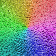 Abstract rainbow metallic surface, closeup metal background. — Stock Photo #5547221