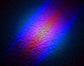 Abstract color lighting over metal surface. — Stock Photo