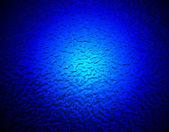 Metal yüzey üzerine soyut mavi aydınlatma. — Stok fotoğraf