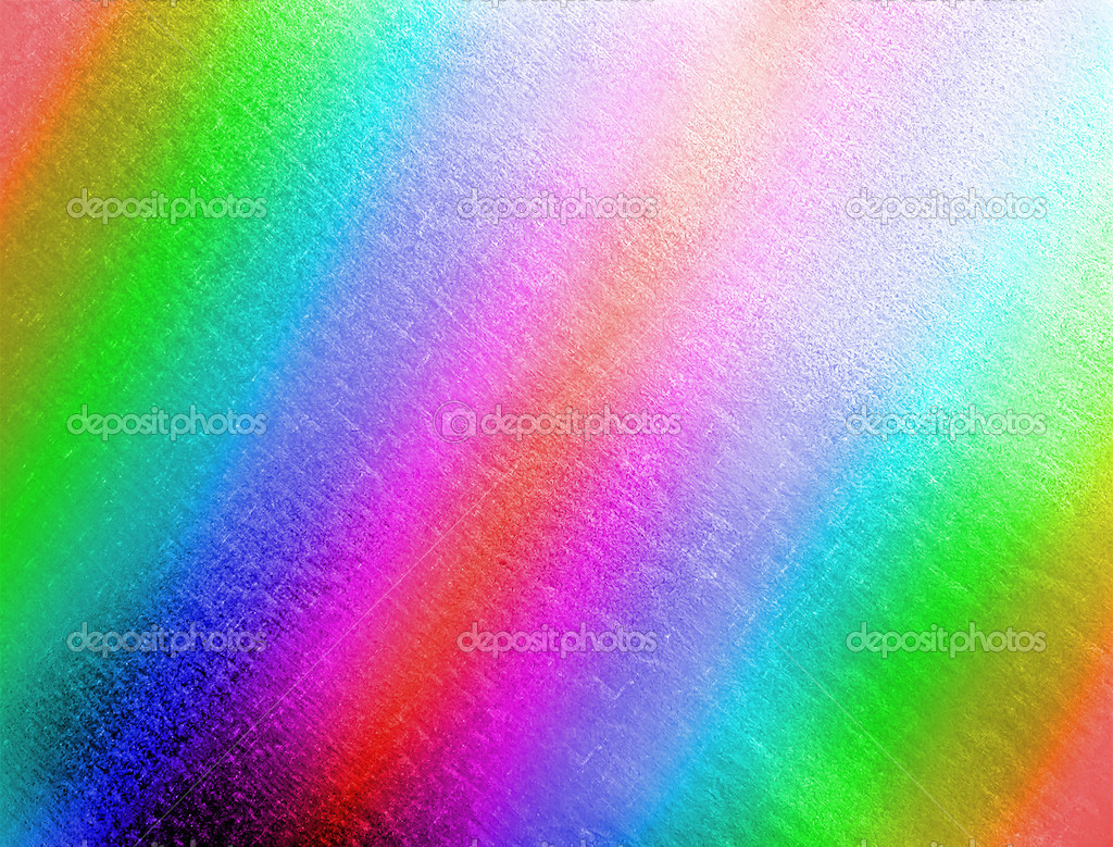 Abstract rainbow metal background, texture closeup details  Stock Photo #5830874