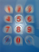 Five number, modern technology. — Stock Photo