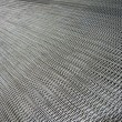 Silver metallic grid, industry details. - Stock Photo