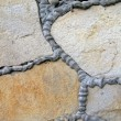 Abstract stone wall, construction details. — Stok fotoğraf
