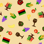 Kwanzaa seamless — Stock Vector