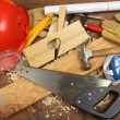 Carpenter&#039;s tools - Foto Stock