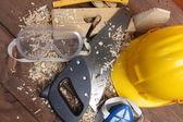Carpenter's tools — Stock fotografie