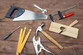 столярный инструмент — Стоковое фото