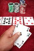 Game of poker — Stock Photo