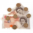 British (uk) currency. - Photo