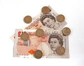 British (uk) currency. — Stock Photo