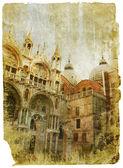 Venice - great italian landmarks — Stock Photo