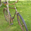 Stock Photo: Old rusty bicycle