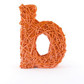 Intertwined letter B — Stock Photo